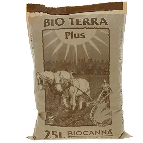 Sustrato 100% Natural para el Cultivo de Canna Bio Terra Plus (25L)