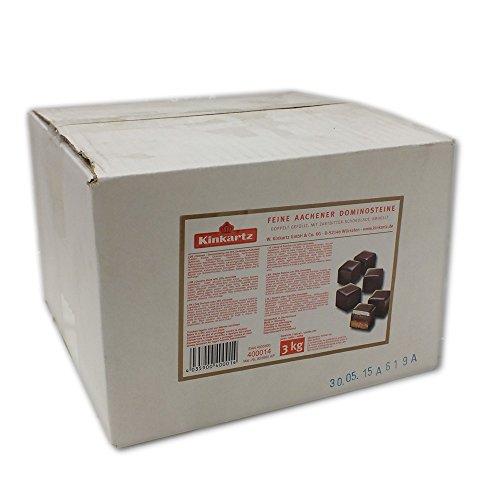 Lambertz Kinkartz Feine Aachener Dominosteine doppelt gefüllt mit Zartbitter-Schokolade (3kg Paket)