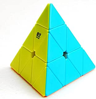 Cubelelo QiYi Qiming Pyraminx Stickerless Speed Cube (QiYi Qiming Pyraminx Stickerless)