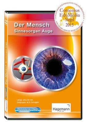 Der Mensch - Sinnesorgan Auge - Film und digitale Tafelbilder auf DVD für PC, Beamer und Whiteboard - tabletfähig - Hagemann 180605 - Einzel- und Schullizenz