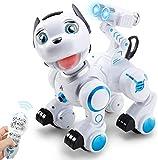 ANTAPRCIS RC Robot Dog Toy - Smart Pet Dog Wink Bark Touch Sense