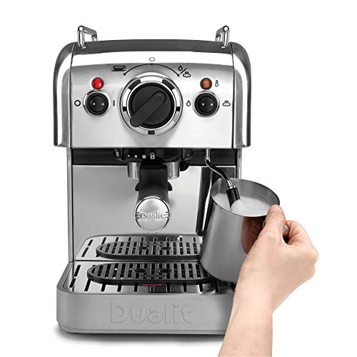 41jcxfxA0YL. SS500  - Dualit 3-in-1 Coffee Machine | Polished Stainless Steel | 1.5 L Capacity | Multi-Brew Versatility | Patented Pure Pour…