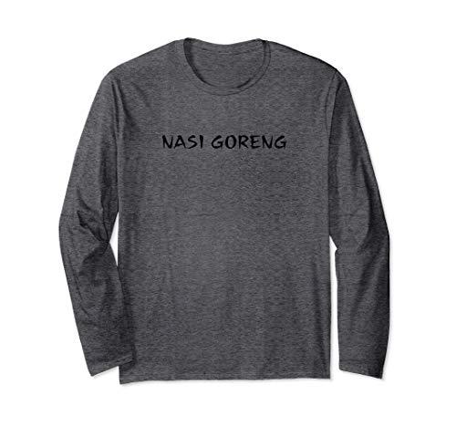 nasi goreng bami nudeln hype bestseller t-shirt Langarmshirt