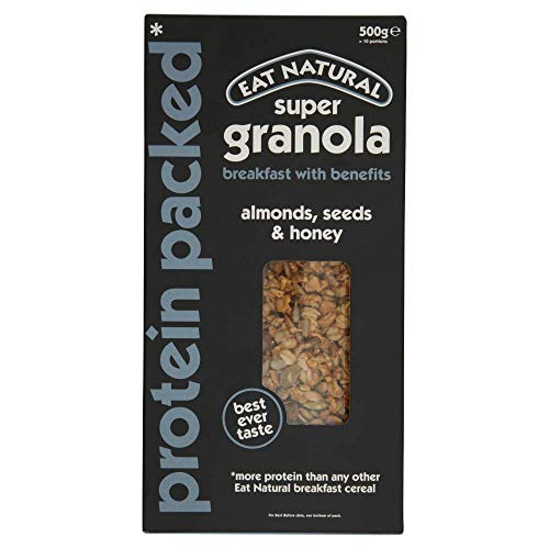 Eat Natural Super Granola Protein Verpackt 500 g