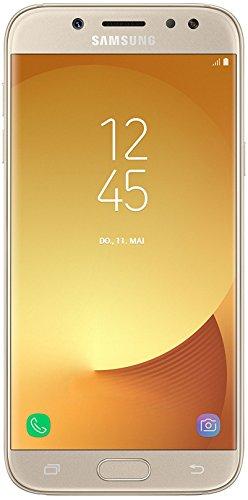 Samsung Galaxy J5 DUOS Smartphone (13,18 cm (5,2 Zoll) Touch-Bildschirm, 16 GB Speicher, Android 7.0) gold