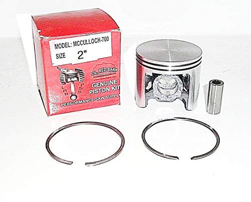 Check Out This Lil Red Barn Piston Kit Fits McCulloch 700,SP70 Chainsaws 2 Bore Replaces McCulloch ...