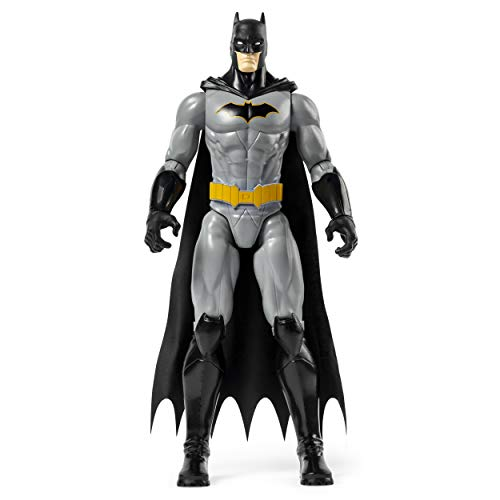 BATMAN 6056680 - Batman 30cm-Actionfigur - Batman Grey Rebirth