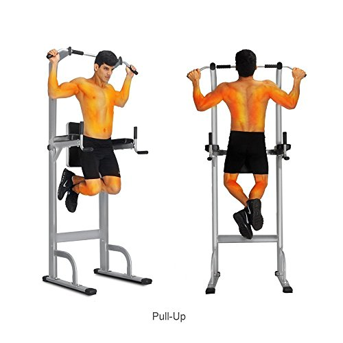 Product Image 5: Ainfox Power Tower, Capacity 550 Lbs Pull Up Bar Tower Dip Stands Fitness Gym Office