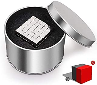 CUDNY 5MM Magnetic Cube Puzzle, Magnets Cubes Fidget Toy, 216pcs Magic Sculpture Blocks Stress Relief Toys DIY Educational for Kids