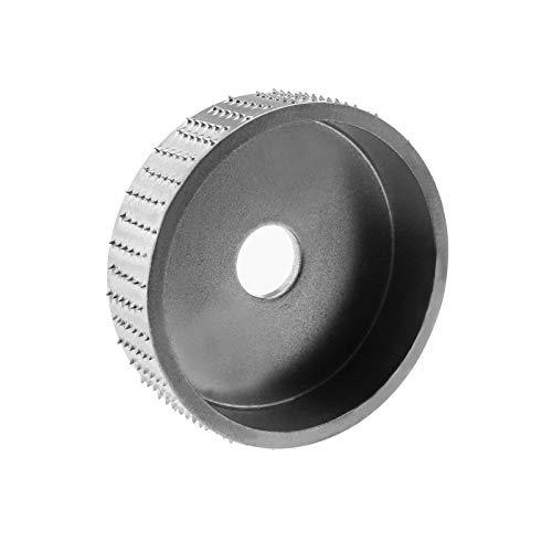 Disco de lijado de madera de carburo de tungsteno para amoladora de ángulo de carpintería herramienta de fijación - plata