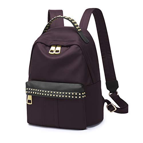 WindTook Backpack for Women Ladies Mini Nylon Daypacks Casual Lightweight Shoulder Travel Bag for Girls 7152-Maroon