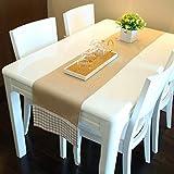 Deirdre Agnes Pizzo Lattice Tavolo Bandiera Semplice Nappa Tavolo da Pranzo Tavolo da caffè Miscela Multicolore Decorazione Domestica