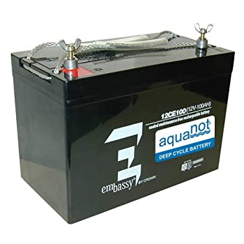 Zoeller 10-1450 - Aquanot 12V Deep Cycle 72AH AGM Battery - 10-145