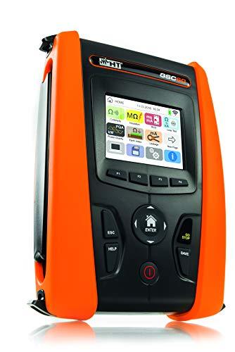 HT-Instruments GSC60 VDE0100 Installationstester & 3 Phasen Netz-/ Energieanalysator CAT IV mit Farb-Touchscreen und WLAN