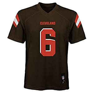 Baker Mayfield Cleveland Browns NFL Kids 4-7 Brown Home Mid-Tier Jersey (Kids 7)