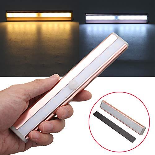HKHJN draadloze 10 LED PIR infrarood lichaam sensor kabinet lamp licht op batterijen HKHJN