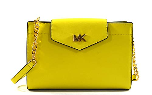 Michael Kors Damen Mott Large Clutch, Gelb