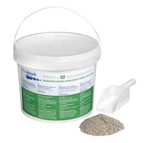 Easy Absorb Hygiene-Streugranulat, Bindet unangenehme Gerüche und Flüssigkeiten, grobkörnig, 1,5 kg