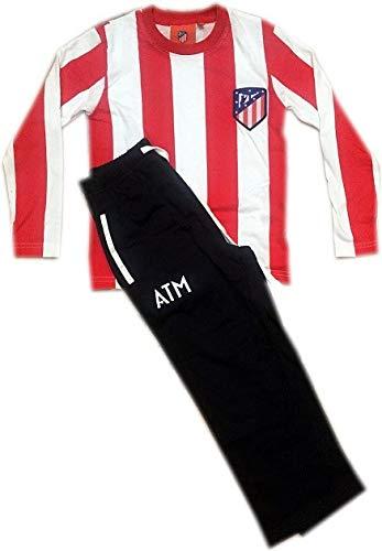 Atlético de Madrid Pijama Niño Rayas 2017-2018