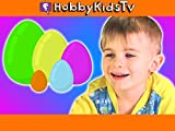 Learn Colors with Toy Story Nesting Eggs