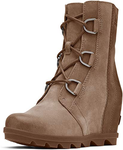 Sorel Women's Joan of Arctic Wedge II Boots, Ash Brown, 7.5 M US