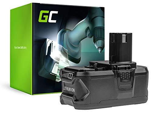 GC® (5Ah 18V Li-ION) One+ System RB18L13 RB18L15 RB18L20 RB18L40 RB18L50 P105 P107 P108 Batterie pour Ryobi R18IW3-0 RC18120 R18AG7-0 R18SDS-0 CCG1801MHG OCS1830 R18AG-0 OBL1820S