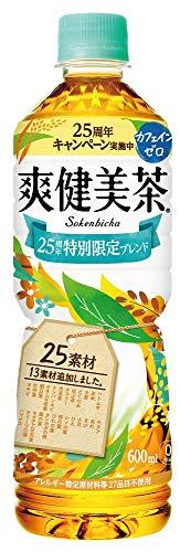 コカ・コーラ 爽健美茶 600mlPET×24本