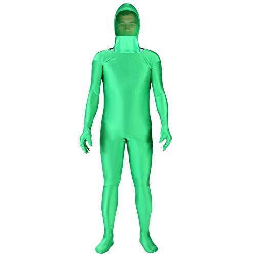 Neewer Chromakey Green Suit Green Screen Chroma Key Body für Foto Video unsichtbarer Effekt