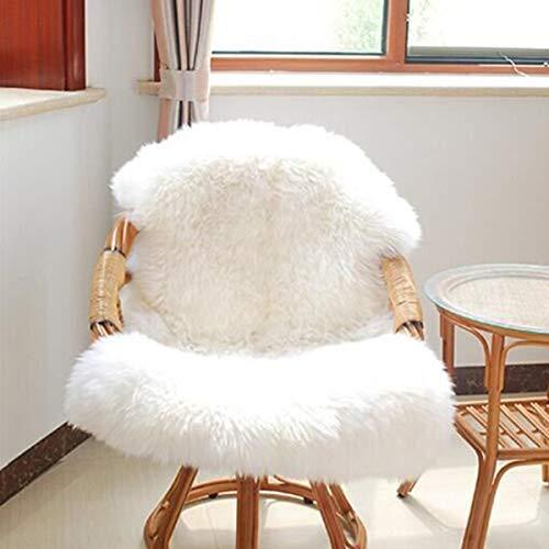 Owlike - Manta Supersuave para sofá (1 Unidad), Color Blanco