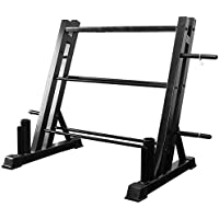 Amikadom Compact Dumbbell Bracket Free Weight Stand