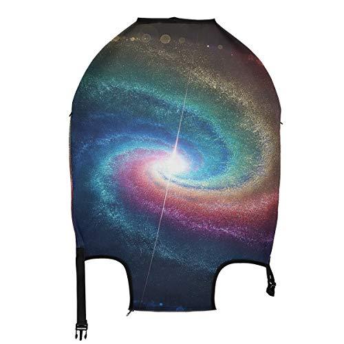 AJINGA Funda protectora para equipaje de viaje con diseño de unicornio y alas de caballo S de 45,7 a 50,8 cm