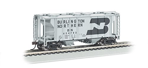 Bachmann Industries PS-2 Burlington Northern Two-Bay Covered Hopper Vehicle (HO Scale)