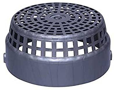 CHIRAG DISTRIBUTION Polycarbonate Chimney Pipe Cowl Cover (6 Inches)