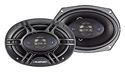 powerful Blaupunkt 6×9 inch 4-way coaxial car audio 450W, 2 packs