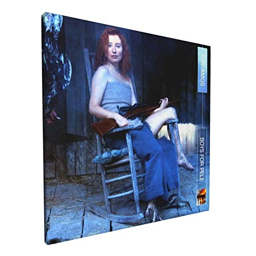 ChristopherDGray Tori Amos Canvas Print Wall Art Painting Posters Square Artwork Framed for Home Decoration 12 X 12 Inch