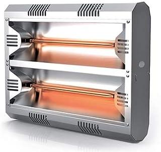 Peco Hathor calefactor de infrarrojos 792DE ALUMINIO con 4000W a la pared montaje