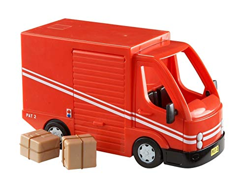 Postman Pat voiture de police Greendale Rocket Post Van figures Ajay Selby Playset
