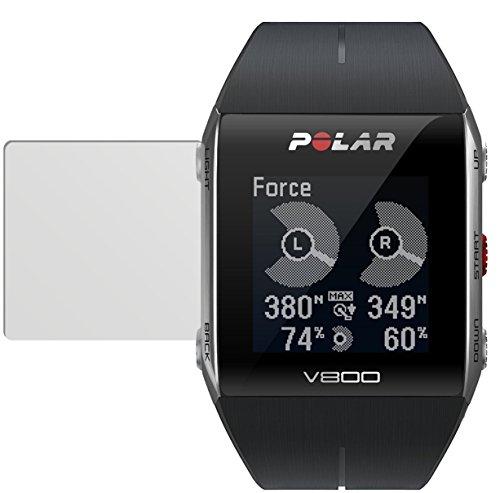 dipos I 6x Schutzfolie matt kompatibel mit Polar Trainingscomputer V800 Folie Bildschirmschutzfolie