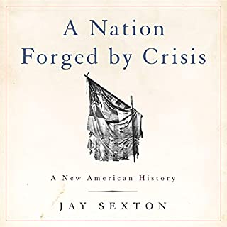 A Nation Forged by Crisis audiobook cover art
