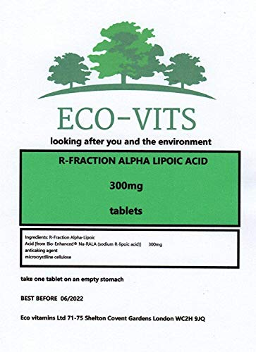 R-Fraction Alpha LIPOIC Acid 300MG 60 TABS