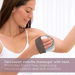 Homedics Massaggiatore Anticellulite con Calore e 3 Opzioni di Massaggio