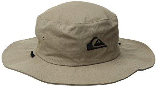 Quiksilver Herren Bushmaster Floppy Sun Beach Hat Baseball Cap, Khaki3, X-Large
