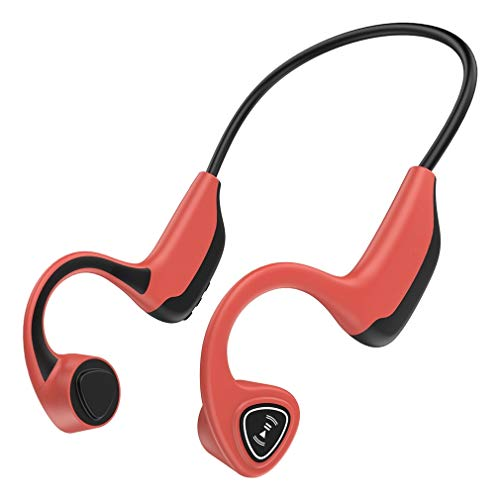 Open-Ear Wireless Bone Conduction Headphones with Bluetooth for Sports
