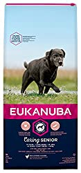 Tailored senior dog food with fresh chicken for large breed dogs in a resealable bag Improved formula for the healthy digestion and optimal body condition of your dog A hexagon kibble shape which improves palatability Contains DentaDefense to reduce ...