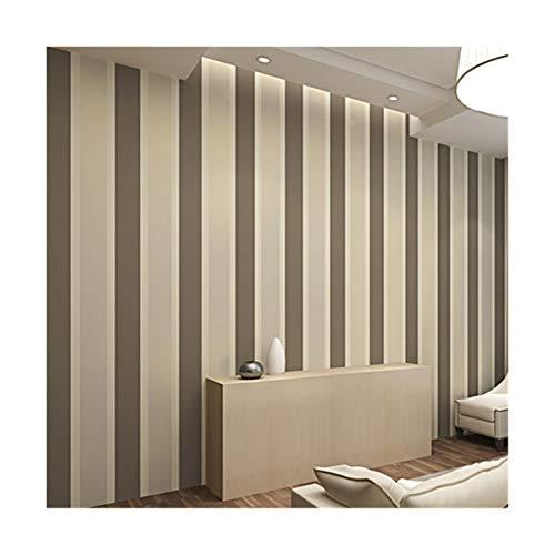 Multi-wallpaper milieuvriendelijk niet-geweven brede strepen behang modern minimalistische slaapkamer woonkamer TV achtergrond muur bruin