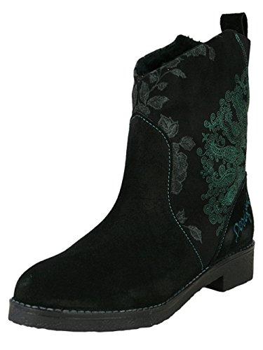 Desigual Femme Designer Top Boot Biker Boots Chaussures - MAS MAS -36