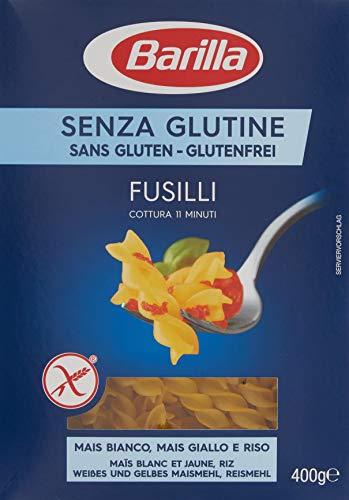 Barilla Pasta Fusilli glutenfrei aus Reis und Mais, 400g