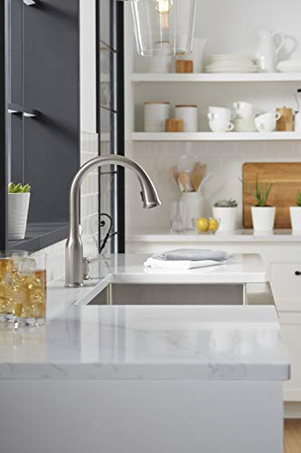 Kohler K-R23863-SD-VS Motif Kitchen Sink Faucet, Vibrant Stainless