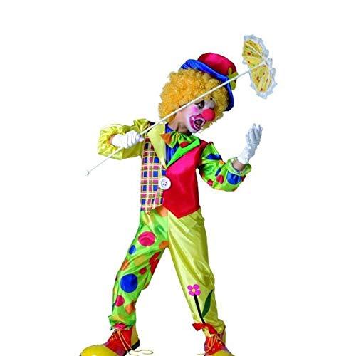 P'TIT CLOWN 87304 Déguisement Enfant Luxe Clown - S - Multicolore