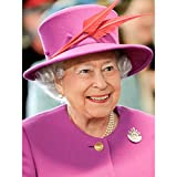 Rouse Portrait Queen Elizabeth II England Photo Large Wall